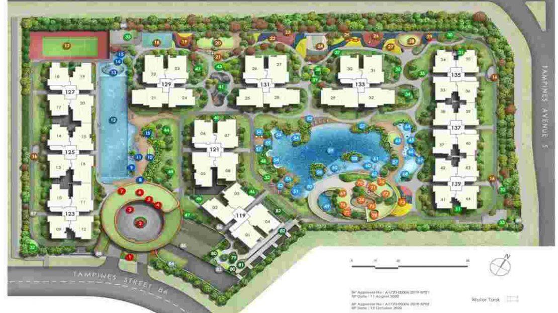 Parc Central Residences Site Plan