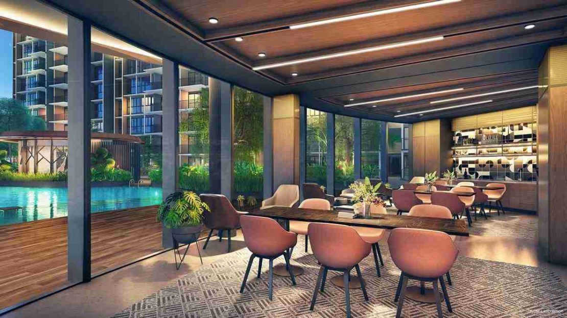 Parc Central Residences - The Great Room (artist impression)