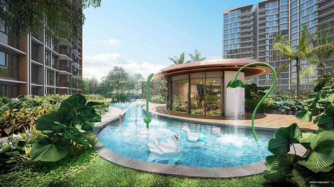 Parc Central Residences - The Kids pool (artist impression)