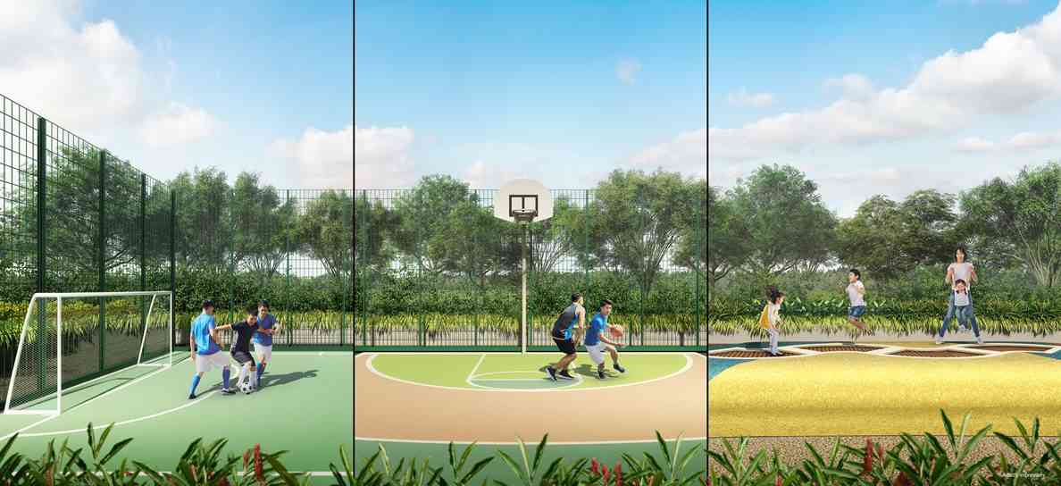 Parc Central Residences - The Playfield (artist impression)