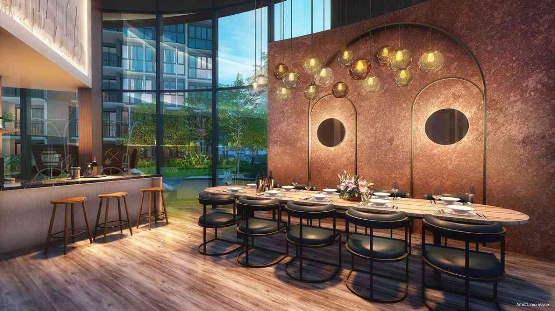 Parc Central Residences - The Private Room(artist impression)