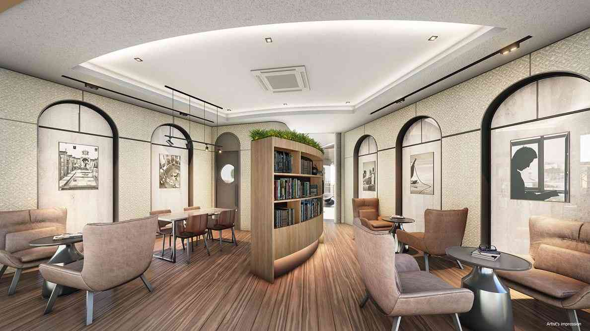 Parc Central Residences - The Reading Room (artist impression)