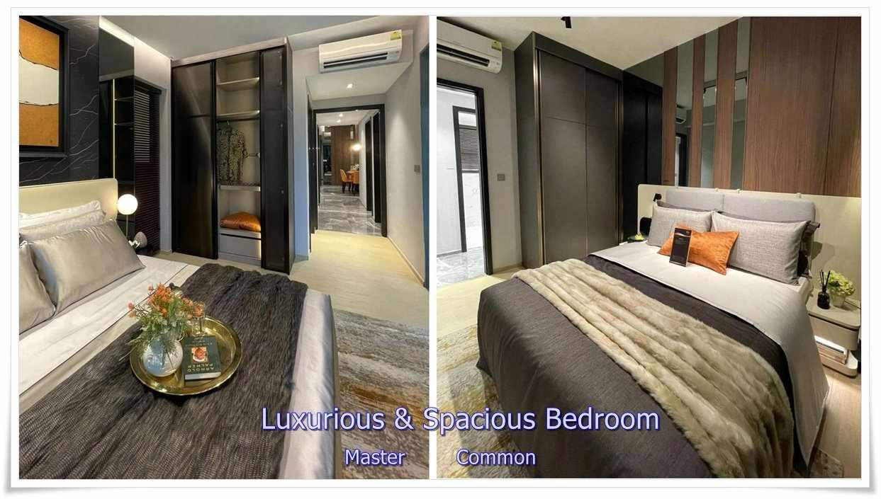 One Bernam - 3 BR 1420 sqft Bedrooms