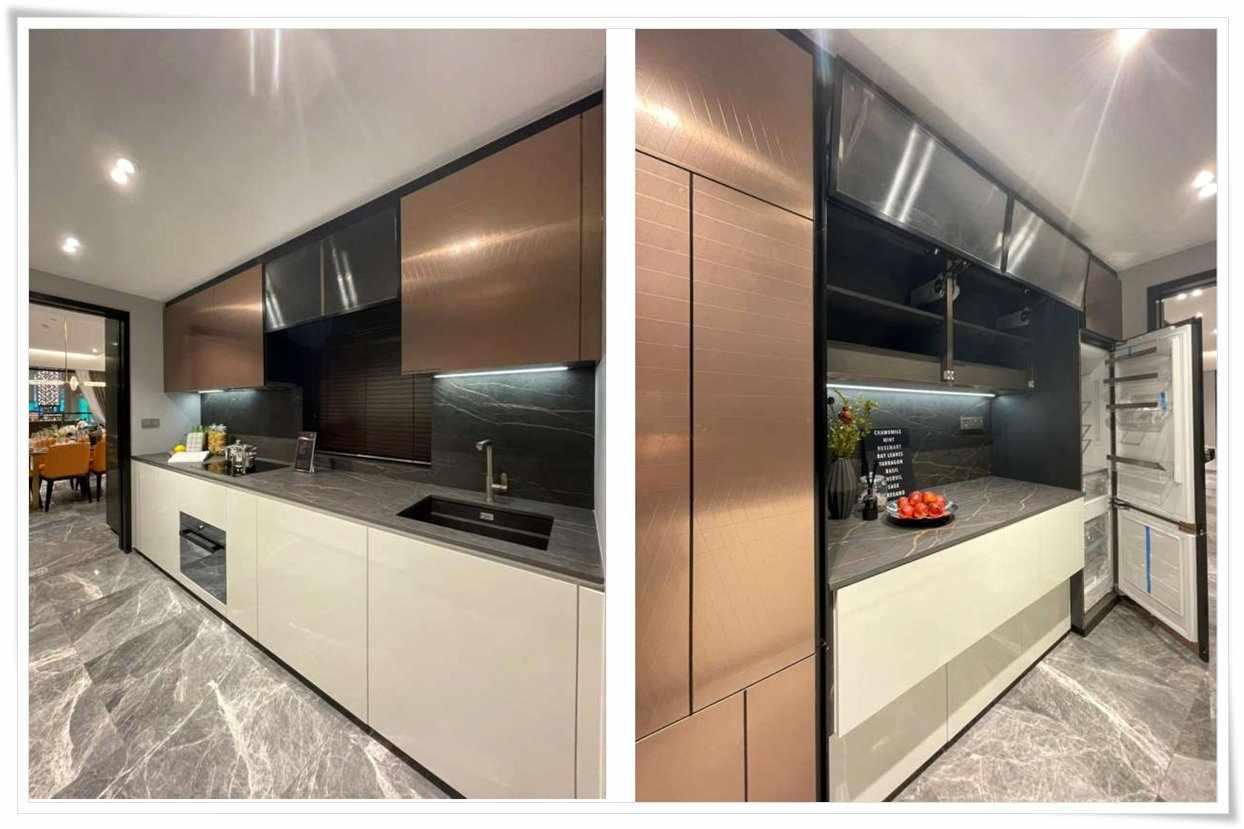 One Bernam - 3 BR 1420 sqft Kitchen