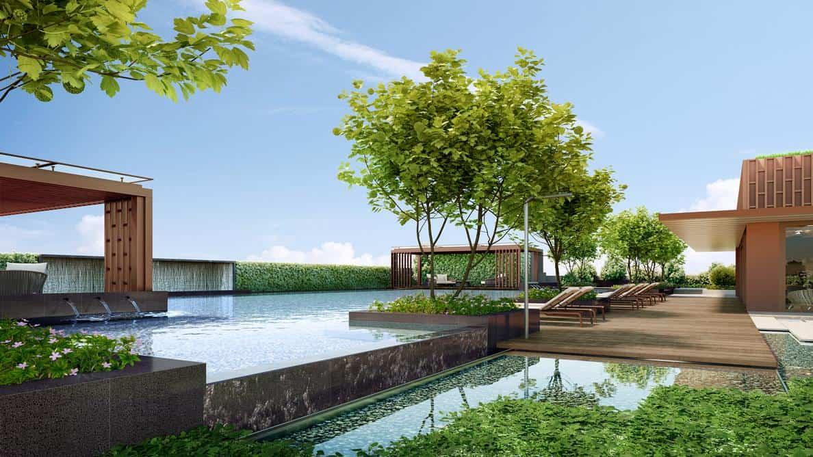 One Bernam - Lap Pool