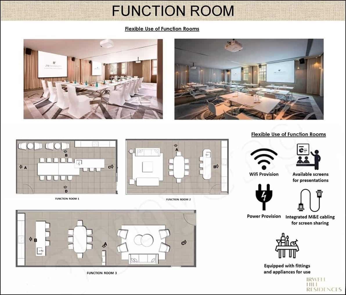 Irwell Hill Residences - Function room