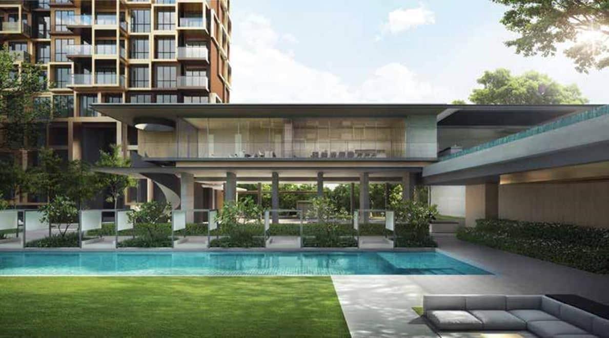 Irwell Hill Residences - Raintree pool