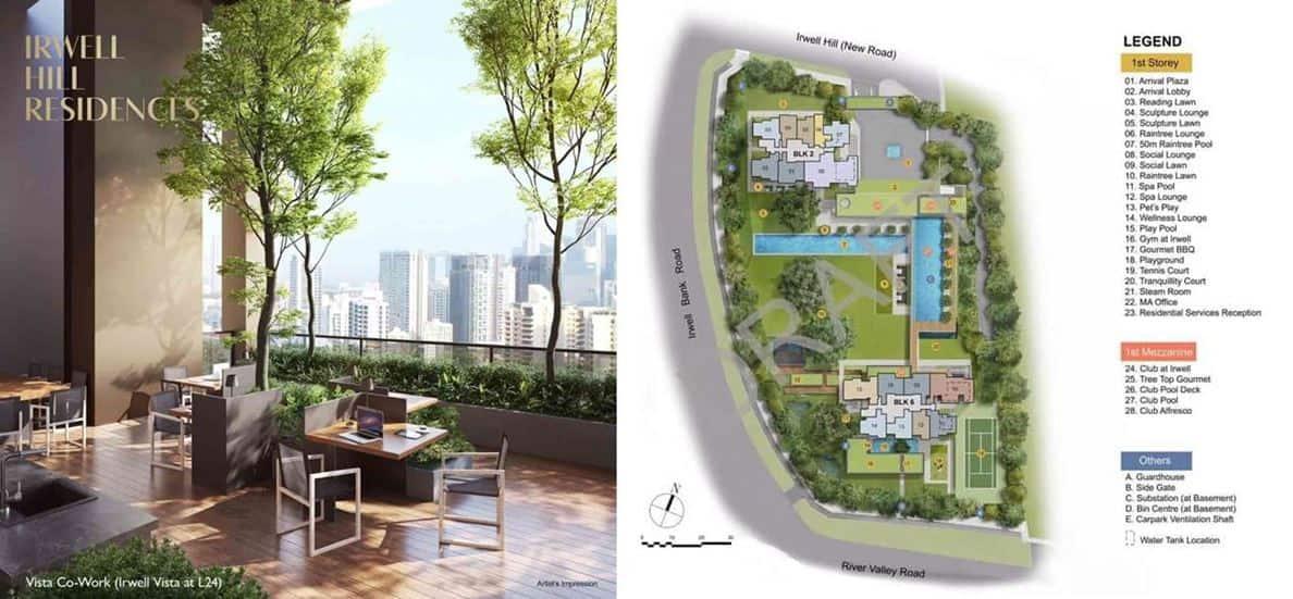 Irwell Hill Residences - Site Plan 1