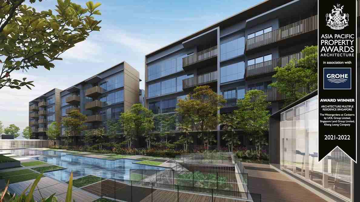 The WaterGardens at Canberra - Pool view