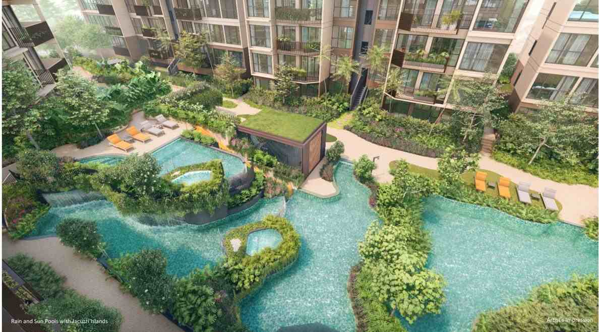 The WaterGardens - Facilities pool 2