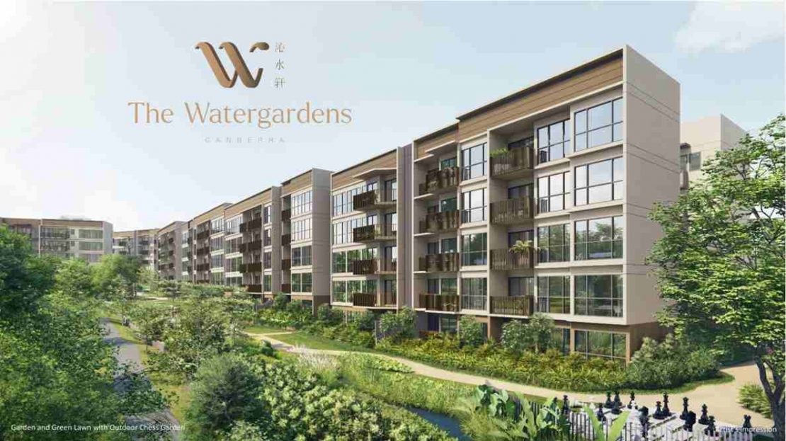 The WaterGardens at Canberra - Facade 4