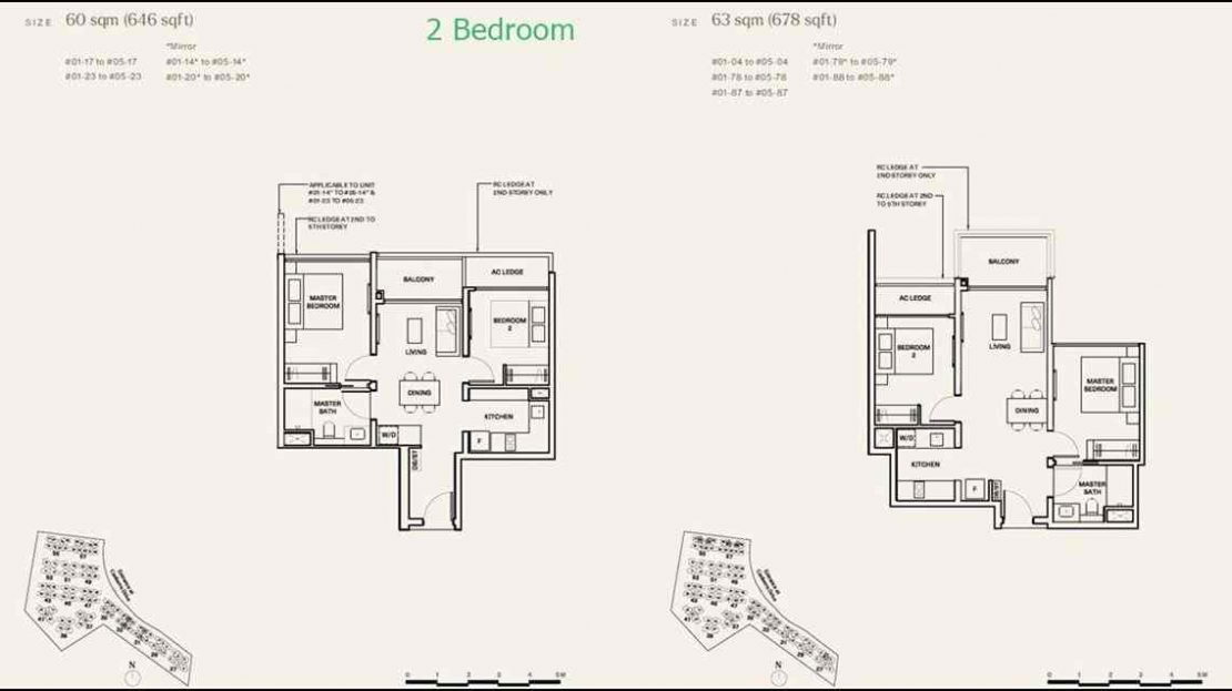 The Watergardens 2 BR
