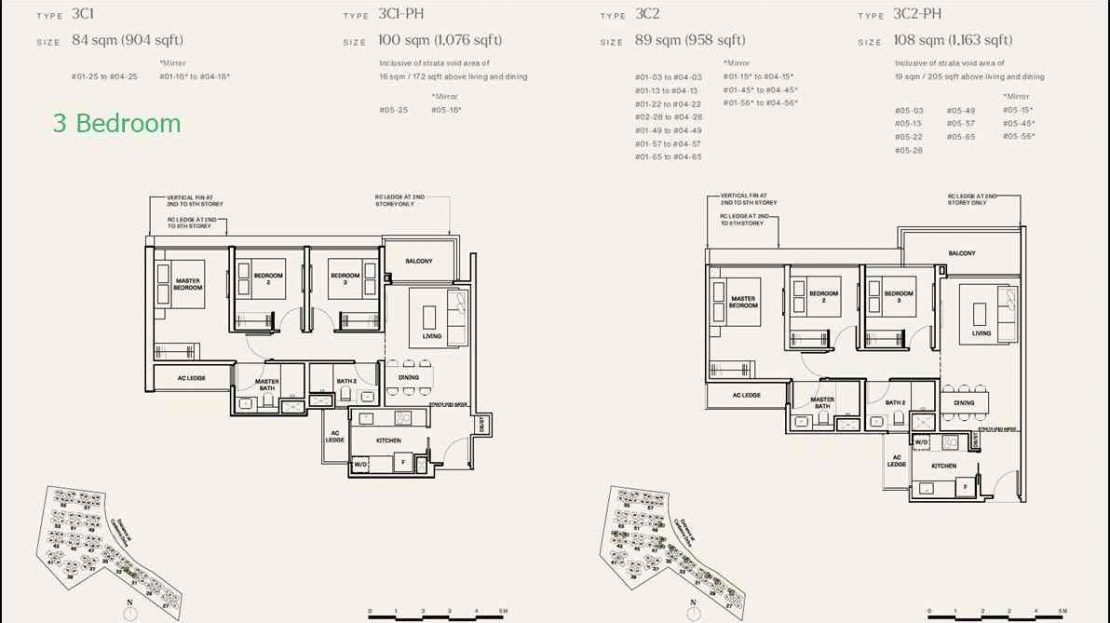 The Watergardens 3 BR