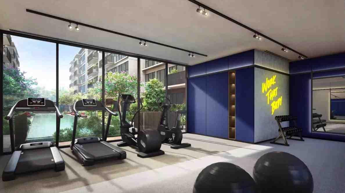 The Watergardens - Gymnasium Room