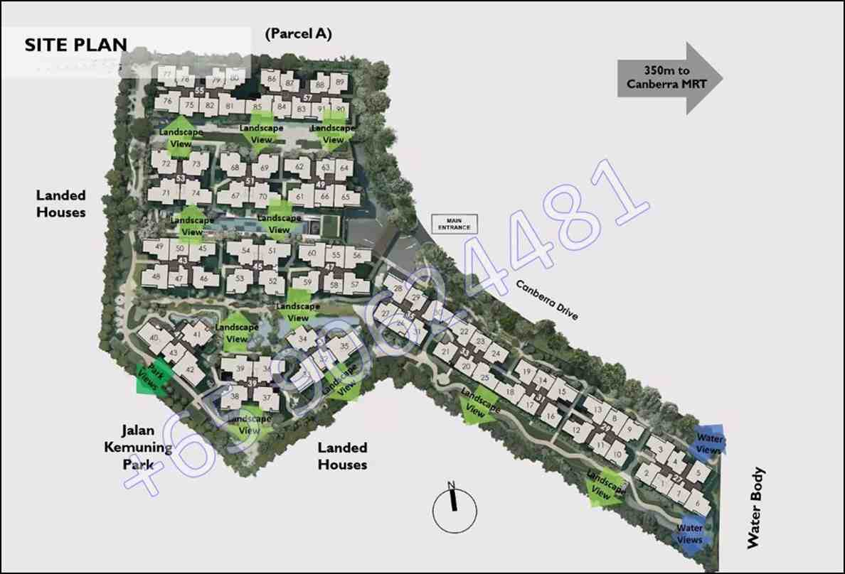 The Watergardens - Site Plan