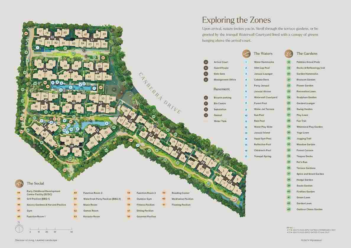 The Watergardens Site Plan