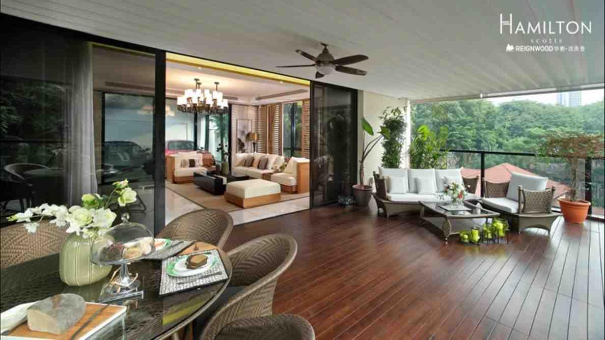 Reignwood Hamilton Scotts - Living room 2