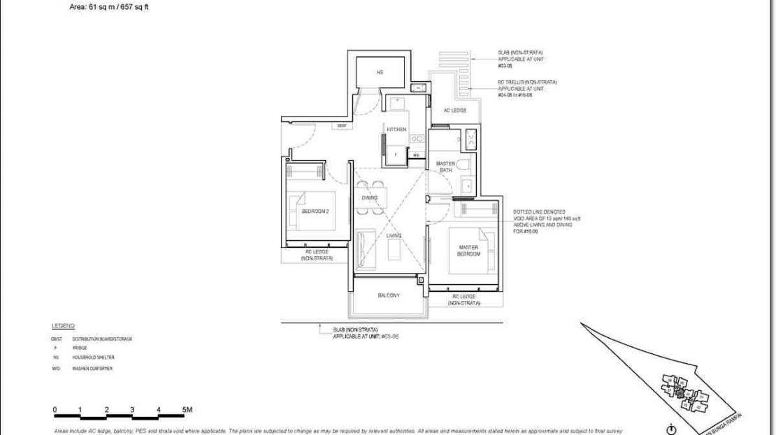 Bartley Vue Floor Plan_2BR
