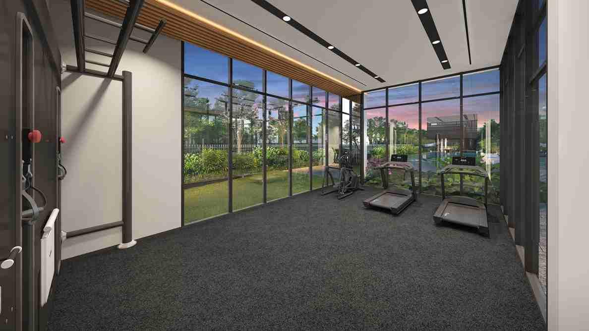 Bartley Vue - Gym Room