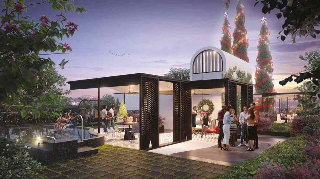 Jervois Mansion - BBQ Pavilion