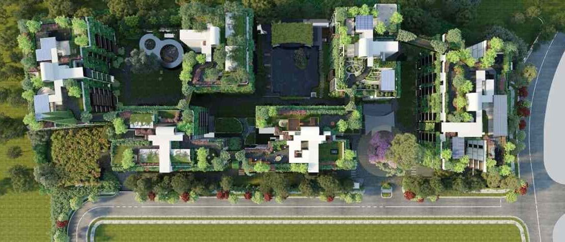 Jervois Mansion - Birds_Eye View