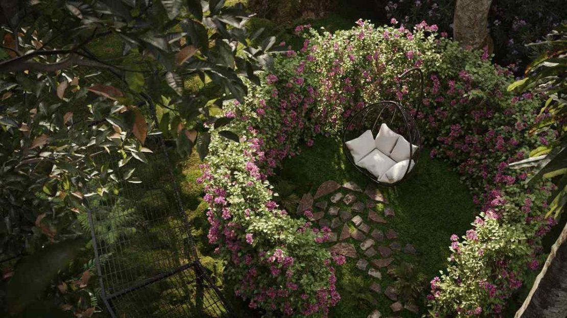 Jervois Mansion - Cocoon_Garden_Corner
