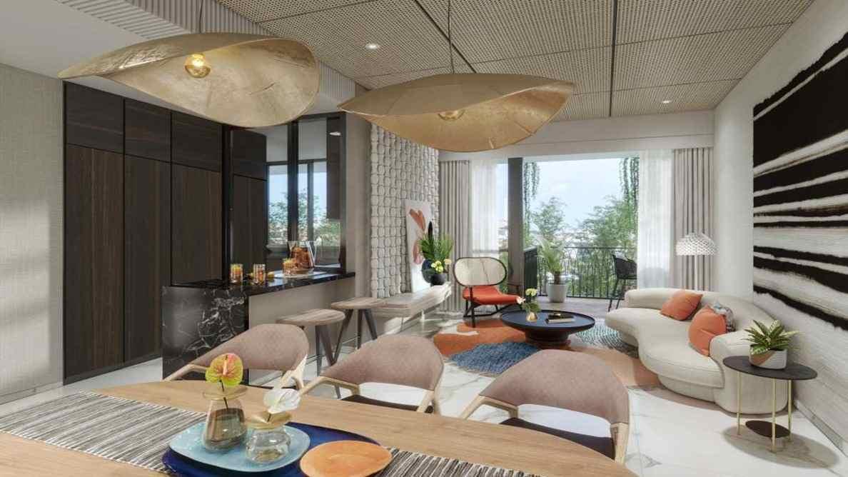 Jervois Mansion - Living Room 2