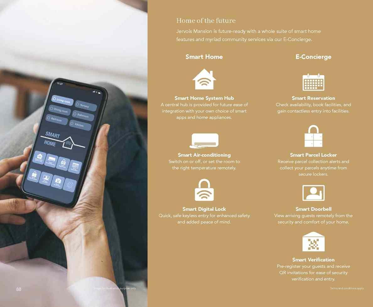 Jervois Mansion - Smart Home Feature
