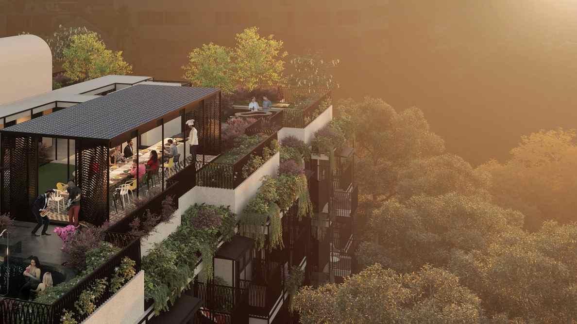 Jervois Mansion - Top Floor Unit