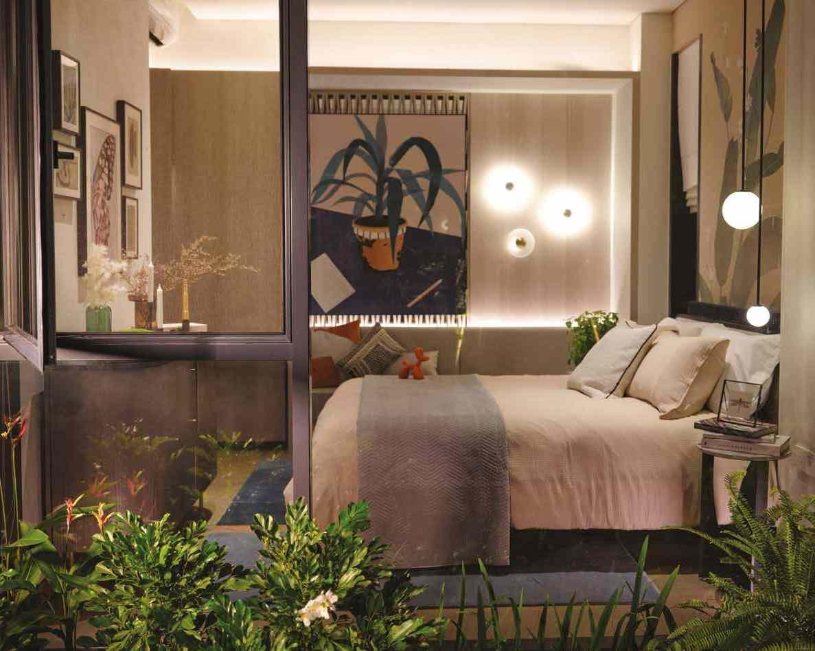 Jervois Mansion - Type E Bedroom